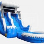 18 ft Dry/Wet Inflatable Slide