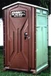 Single Unit Portable Restroom